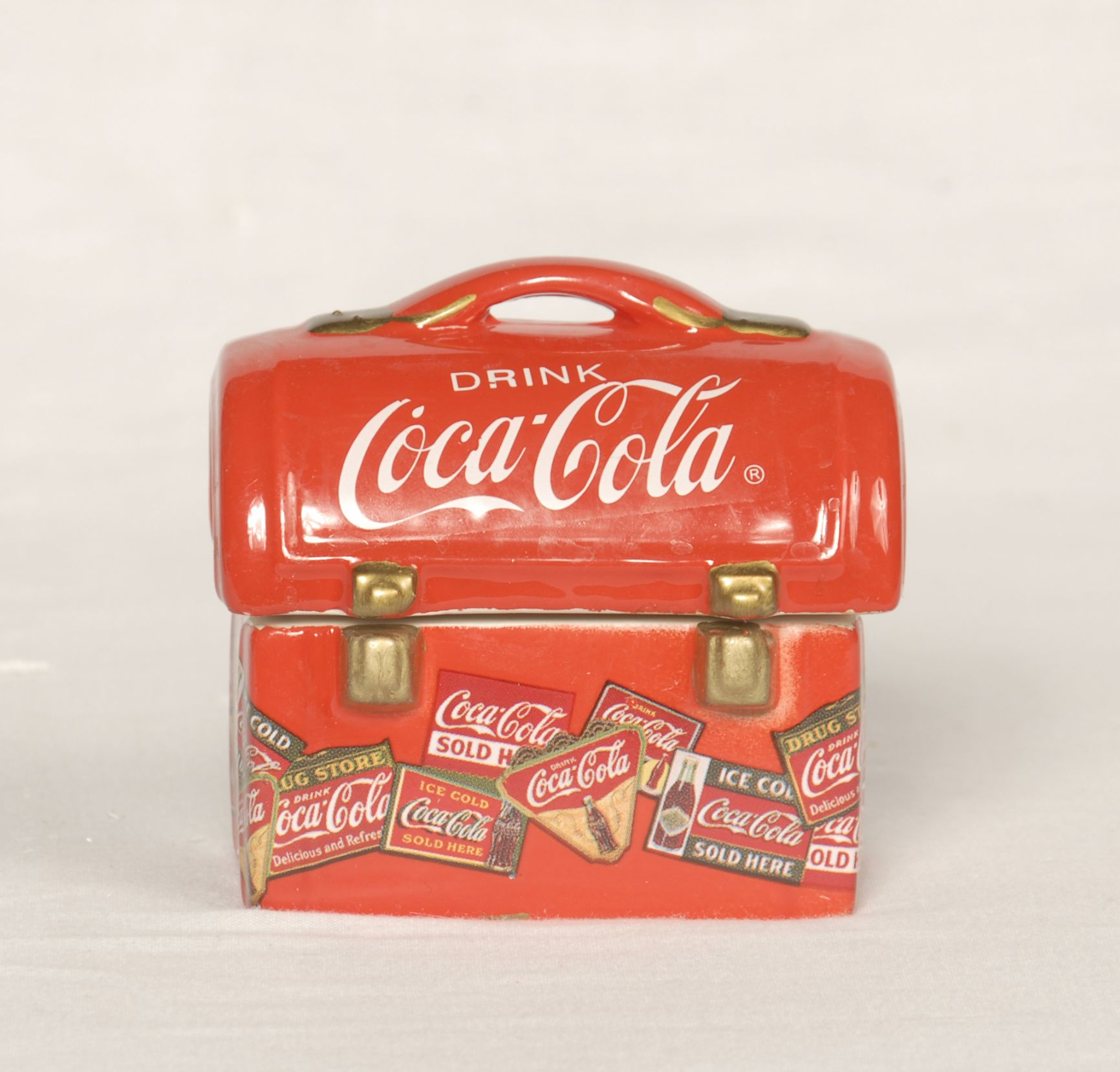 Coca Cola Lunch Box and other Beloved Brands Memorabilia